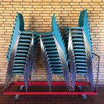 DanishSchools-TurquoiseChairs